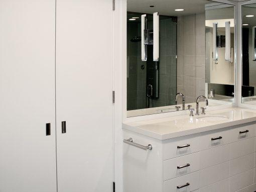 Bathroom: 2010-Custom-White Swan