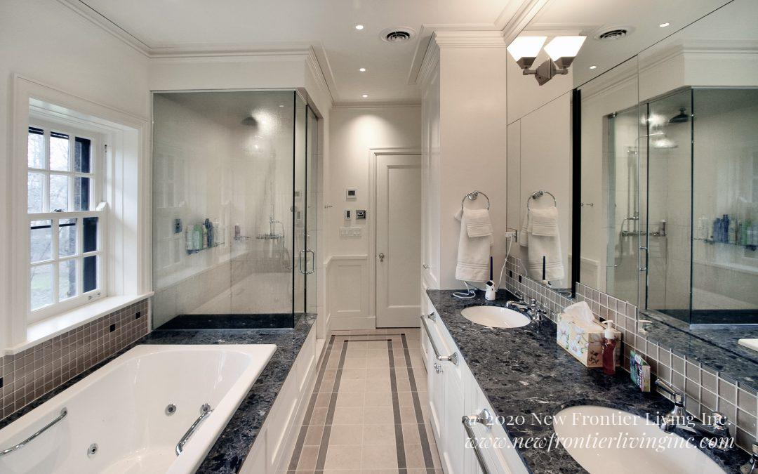 Bathroom: 2013-Custom-White&DarkGray
