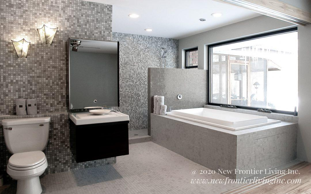 Bathroom: 2013-Custom-White&Gray