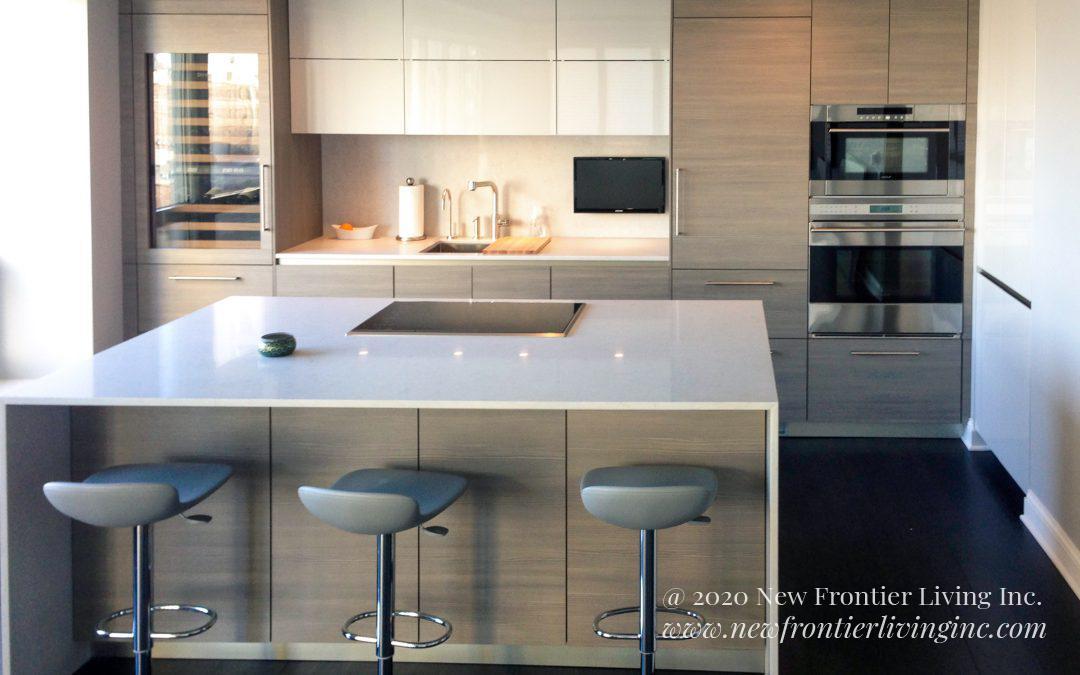 Kitchen: 2014-Snaidero-Showroom-Light Wood Gray