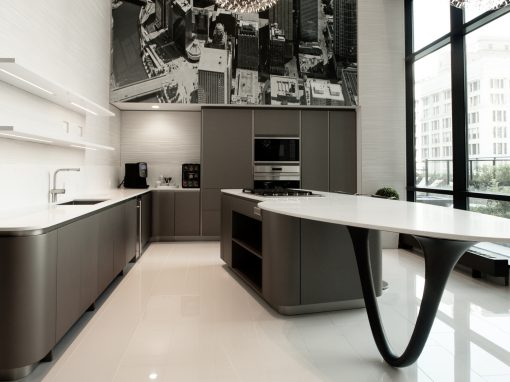 Kitchen: 2014-Snaidero-GrayWhite-SkyLounge-EastSide