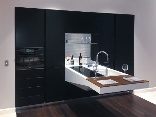Kitchen: 2016-Snaidero-Black Foldable