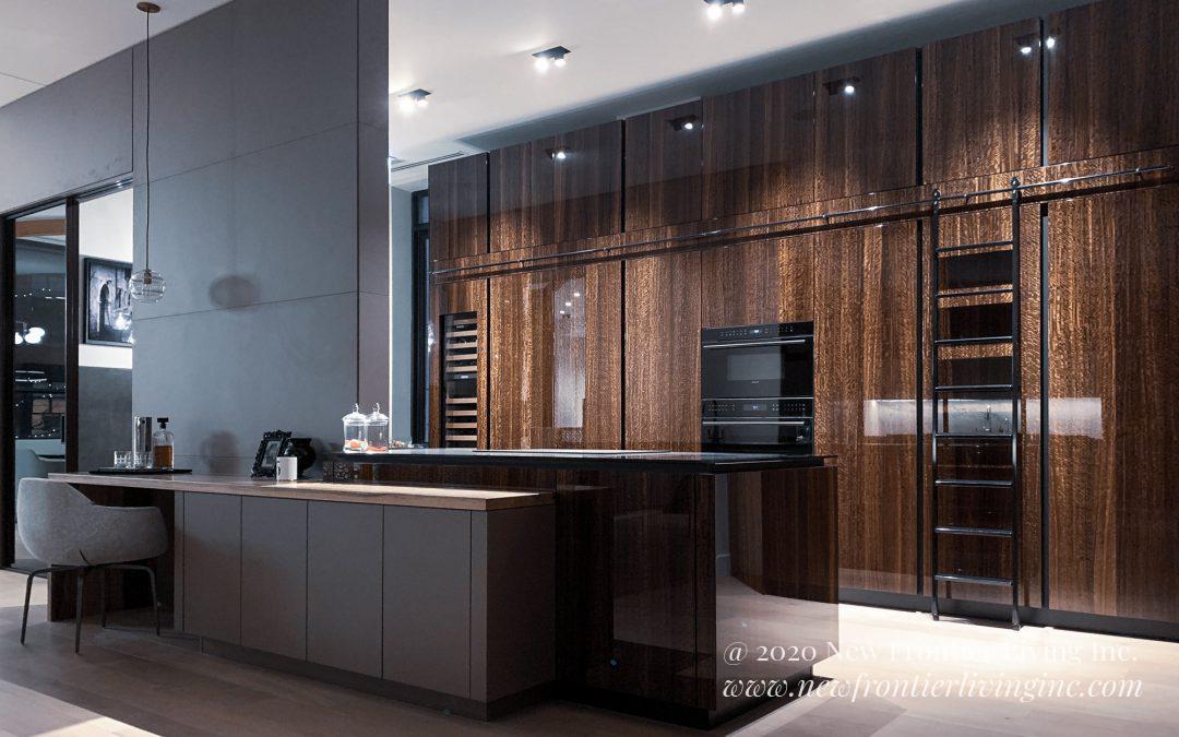 Kitchen: 2019-Snaidero-Showroom-Brown