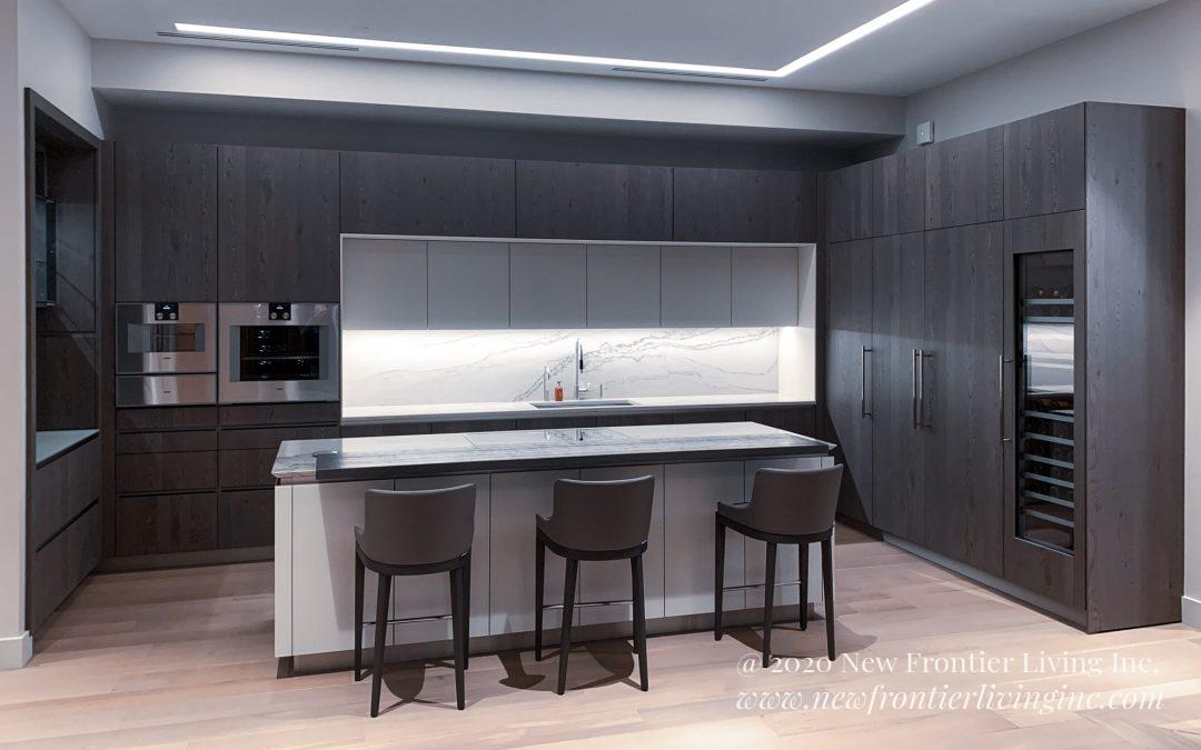 Kitchen: 2019-Snaidero-Showroom-DarkGray