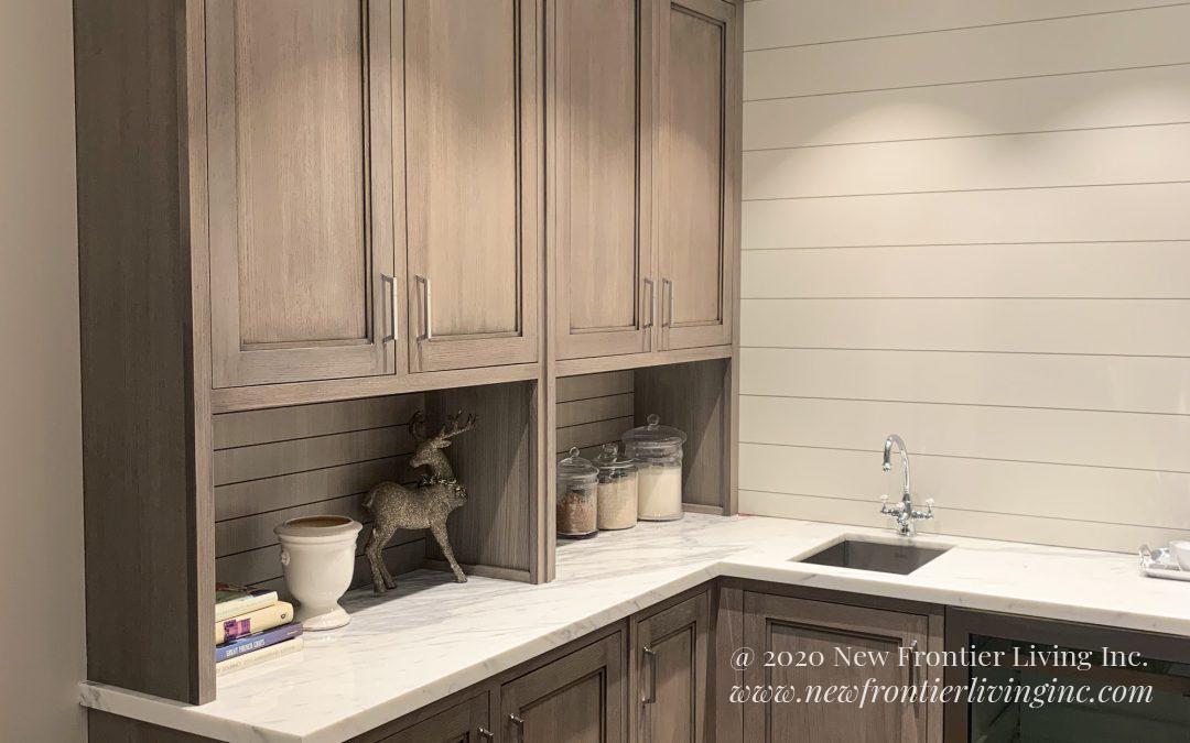 Kitchen: 2019-Snaidero-Showroom-Peach&Gray