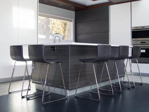 Kitchen: 2020-Custom-White&Gray&Brown