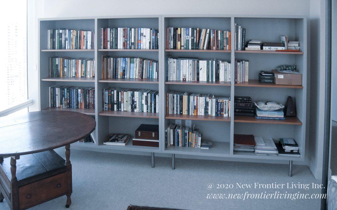 Custom Cabinetry: Bookshelves