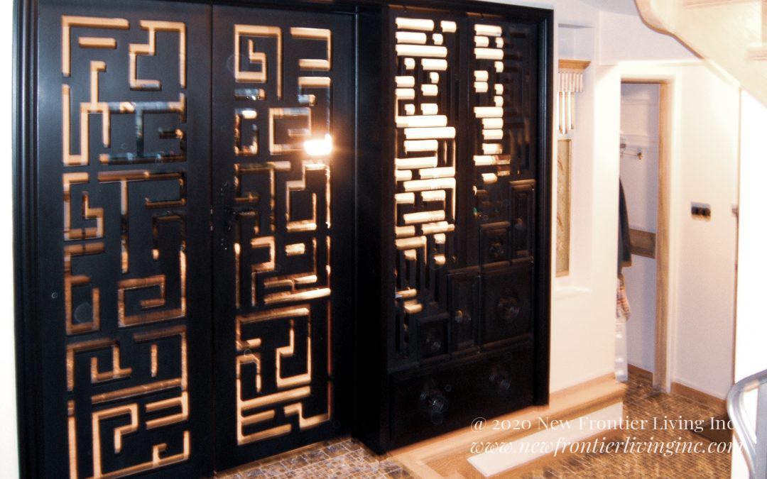 Custom Cabinetry: Doors & Hallways