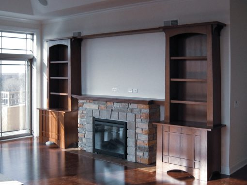 Custom Cabinetry: Fireplaces