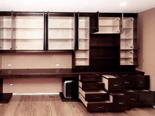 Custom Cabinetry: Desks & Office Furniture